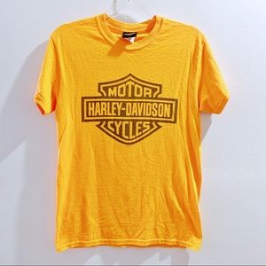 Harley Davidson Classic Orange Graphic T Knoxville